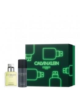 COFFRET CALVIN KLEIN ETERNITY FOR MEN EDT 100 ml