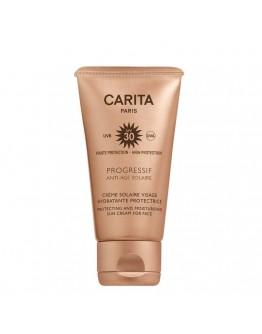 Carita Progressif Anti-Age Solaire Creme Solaire Visage Hydratante Protectrice SPF30 50 ml