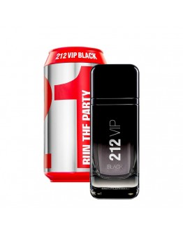 CAROLINA HERRERA 212 VIP BLACK CAN CASE EDP 100 ml