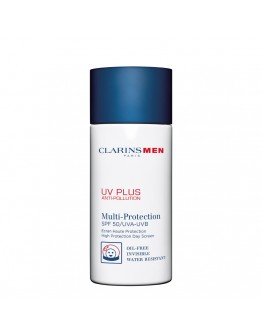 Clarins Men UV PLUS Anti-Pollution Multi-Protection SPF50 50 ml