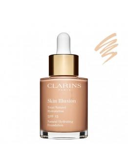 Clarins Skin Illusion Teint Naturel Hydratation SPF15 #105 Nude 30 ml