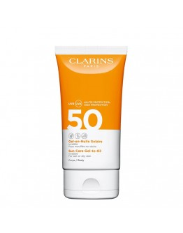 Clarins Gel-en-Huile Solaire Corps SPF50 150 ml
