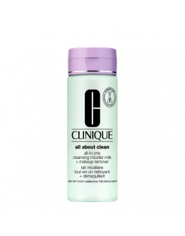 Clinique All About Clean All-in-One Cleansing Micellar Milk + Makeup Remover I/II 200 ml