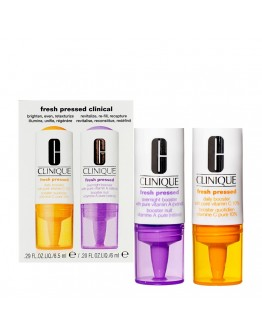 Clinique Fresh Pressed Clinical Daily and Overnight Boosters