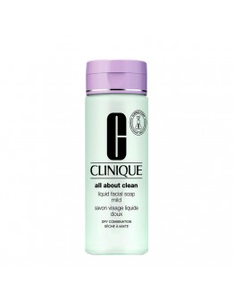 Clinique All About Clean Liquid Facial Soap Mild 200 ml