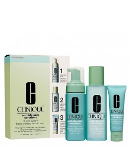 Coffret Clinique Anti-Blemish Solutions 3-Step System