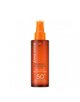 Lancaster Sun Beauty Satin Dry Oil Fast Tan Optimizer SPF50 150 ml